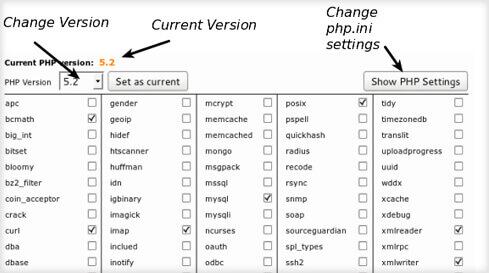 تغییر نسخه PHP در هاست cPanel هاستینگ سی پنل ارزان و حرفه ای